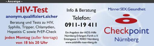 hiv test anonym nürnberg